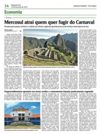Mercosul atrai quem quer fugir do carnaval