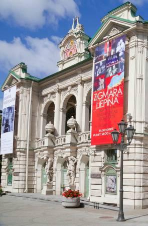Teatro Nacional de Riga: Concerto do Maestro Antonio Meneghetti