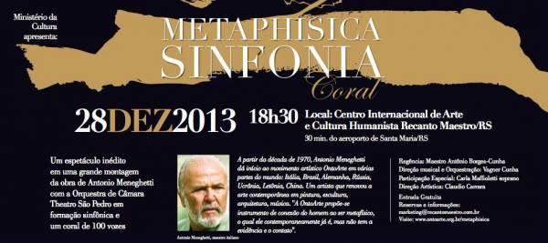 Um concerto inédito no Recanto Maestro