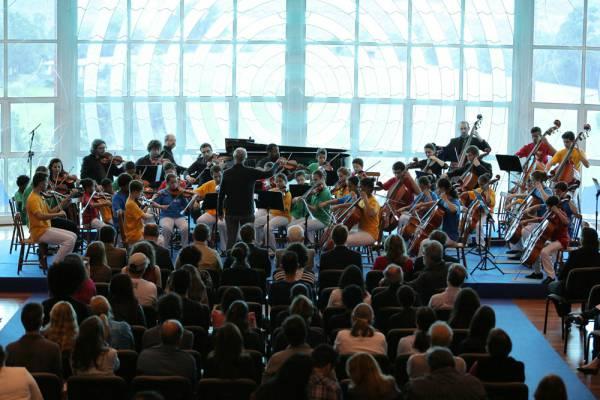 Residência de Inverno Orquestra Jovem Recanto Maestro