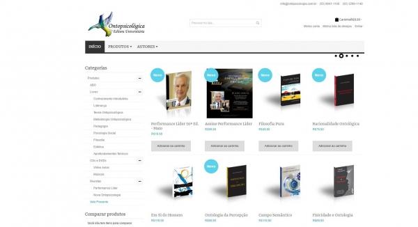 Ontopsicológica Editora Universitária lança seu novo site