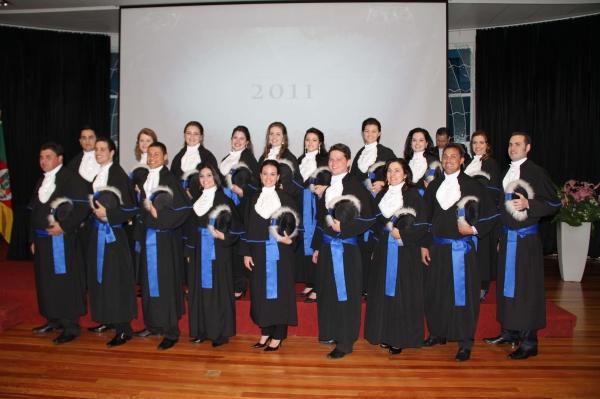 Formatura da 1ª Turma de Graduação em Administração da Antonio Meneghetti Faculdade