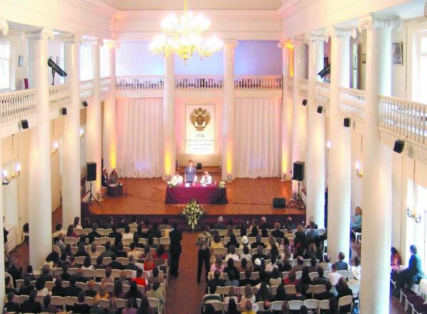 Inauguração da Cátedra de Ontopsicologia na Universidade Estatal de São Petersburgo