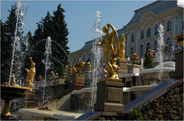 Concerto de OntoArte na Sala Branca do Grande Palácio de Peterhof