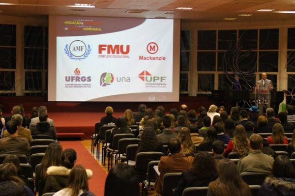 II Seminário Mediação & Sociedade e I Competição de Mediação Empresarial da AMF