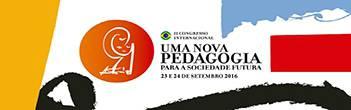 II Congresso Internacional Uma Nova Pedagogia Para a Sociedade Futura